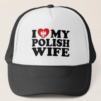 Casquette J'aime mon épouse polonaise
