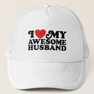 Casquette J'aime mon mari impressionnant