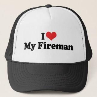 Casquette J'aime mon pompier