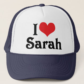 Casquette J'aime Sarah