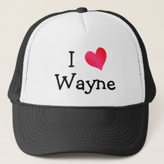 Casquette J'aime Wayne