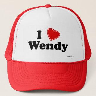 Casquette J'aime Wendy