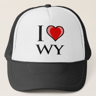 Casquette J'aime WY - Wyoming