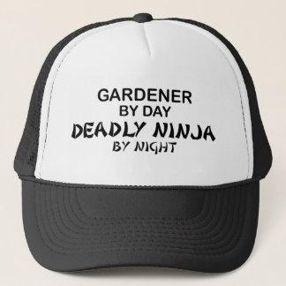 Casquette Jardinier Ninja mortel par nuit
