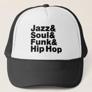 Casquette Jazz et âme et trouille et hip hop
