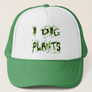 Casquette Je creuse le slogan de jardinier de plantes