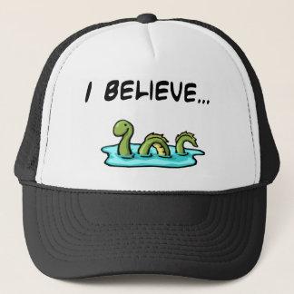 Casquette Je crois en monstre de Loch Ness