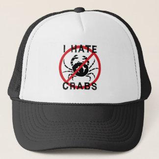 Casquette Je déteste des crabes