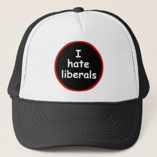 Casquette Je déteste des libéraux