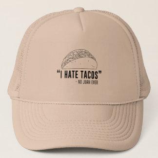 Casquette Je déteste des tacos, n'ai dit aucun Juan jamais