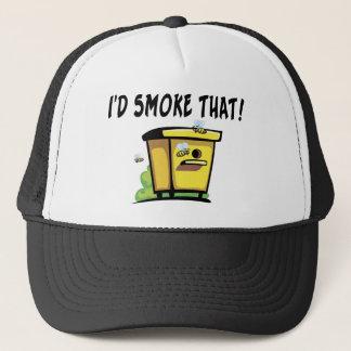 Casquette Je fumerais cette ruche d'abeille