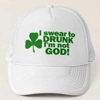Casquette Je jure à ivre je ne suis pas Dieu !