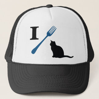 Casquette Je mange des chats de chat