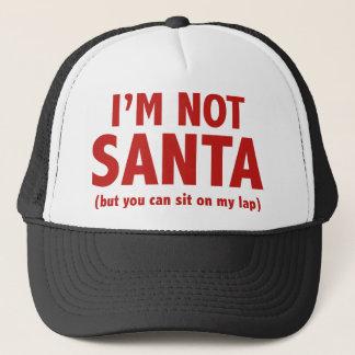 Casquette Je ne suis pas Père Noël (mais vous peut se
