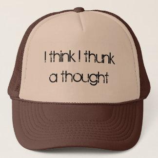 Casquette Je pense le thunk d'I une pensée