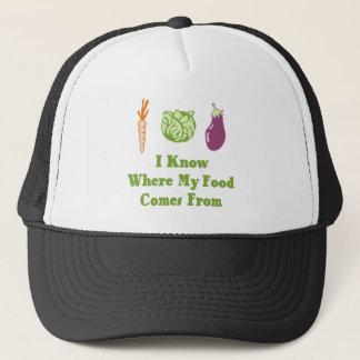 Casquette Je sais d'où ma nourriture vient