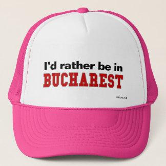 Casquette Je serais plutôt à Bucarest