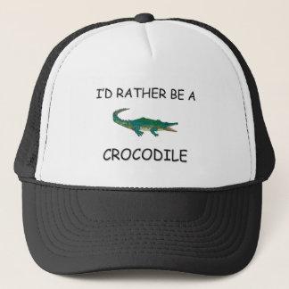 Casquette Je serais plutôt un crocodile