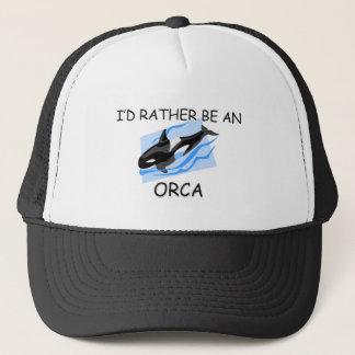 Casquette Je serais plutôt une orque