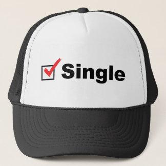 Casquette Je suis célibataire et disponible