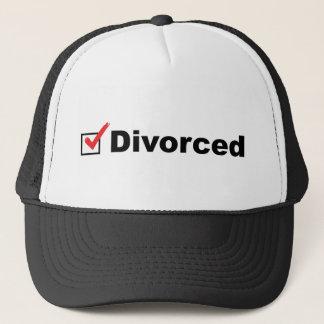 Casquette Je suis divorcé et disponible