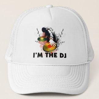 Casquette Je suis Le DJ Rockin les plaques tournantes