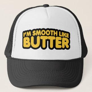 Casquette Je suis lisse comme le beurre