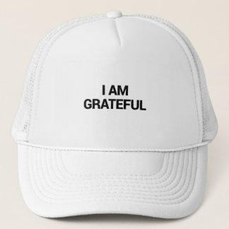 Casquette Je suis reconnaissant