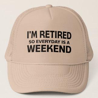 Casquette Je suis retiré si quotidien est un week-end !