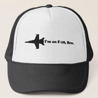 Casquette Je suis un F-18, Bro