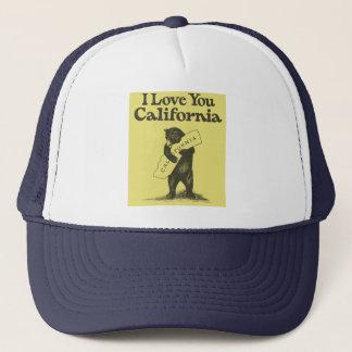 Casquette Je t'aime la Californie