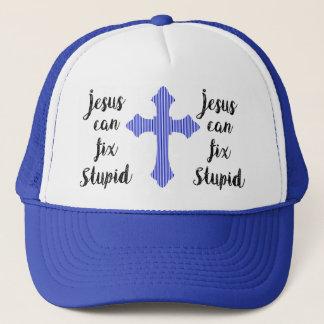 Casquette Jésus peut fixer stupide