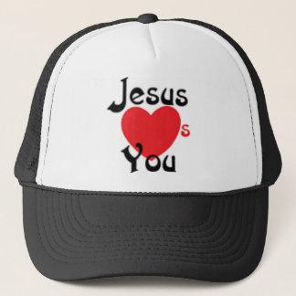 Casquette Jésus vous aime