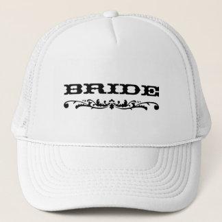 Casquette Jeune mariée occidentale du mariage |