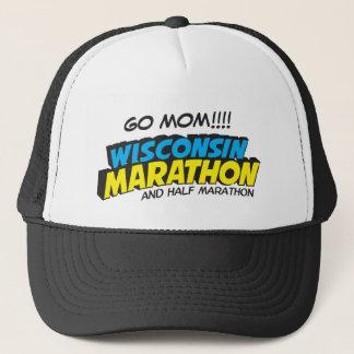 Casquette Jour de course de marathon du Wisconsin