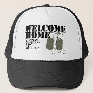 Casquette Jour des anciens combattants à la maison bienvenu
