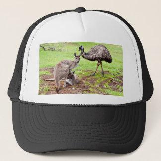 Casquette Kangaroo_And_Emu, _