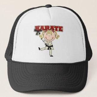 Casquette KARATÉ - T-shirts et cadeaux blonds de fille