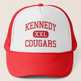 Casquette Kennedy - pumas - milieu - Cupertino la Californie