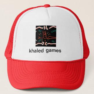 casquette khaled de jeux ! (LOGO !)