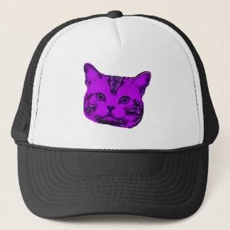 Casquette Kitty pourpre