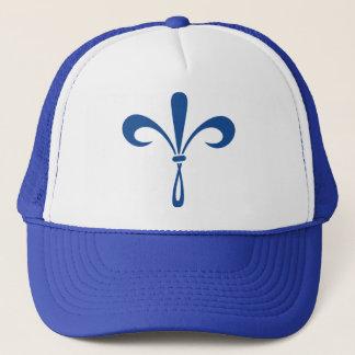 Casquette KKG Fleur de Lis : Bleu profond