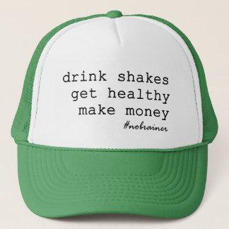 Casquette La boisson secoue le camionneur de #nobrainer