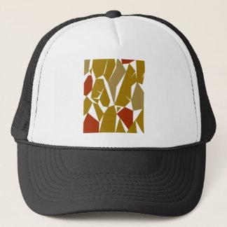 Casquette La conception bloque le miel d'ethno