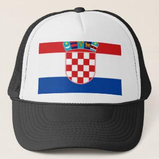 Casquette La Croatie : Drapeau de la Croatie
