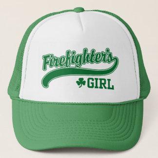 Casquette La fille du sapeur-pompier irlandais
