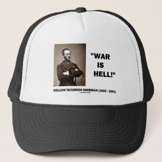 Casquette La guerre de William Tecumseh Sherman a lieu