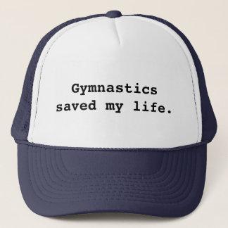 Casquette La gymnastique a sauvé ma vie