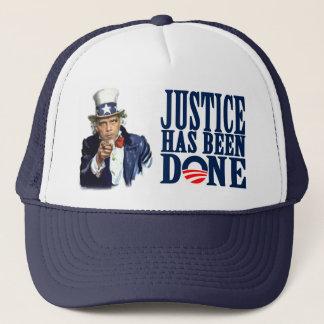 Casquette La justice d'Obama a été Ben Laden fait