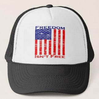 Casquette La liberté n'est pas drapeau américain libre